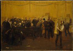 F. Luis Mora (American, b.Uruguay, 1874-1940). The National Academy Jury of 1907. The Metropolitan Museum of Art, New York. Gift of Miss Rosemary Mora, 1941 (41.58).