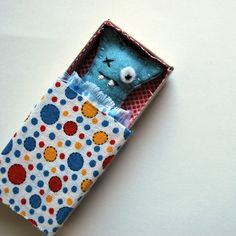 Light Blue Matchbox Monster