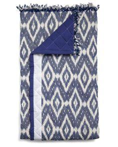ikat throw blanket - love, love, love Ikat prints