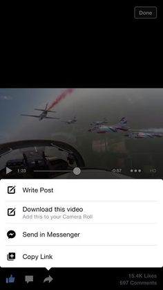 Prenesi-tweak to download facebook videos in iOS 8 and iOS 7