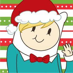 gif Christmas Adventure Time my gifs Marceline Princess Bubblegum cake jake finn marshall lee fionna bmo ice king lumpy space princess lady rainicorn Prince Gumball ice queen flame prince flame princess Lord Monochromicorn gunter peppermint butler prism-o
