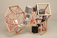 Bilkent University Department of Architecture Official Web Site Concept Models Architecture, Pavilion Architecture, Art And Architecture, Abstract Sculpture, Wood Sculpture, Mobile Art, Arte Popular, Geometric Designs, 3d Design