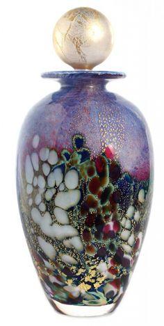 Renoir Amphora Bottle, handmade by world-class designer and glassmaker Johnathan Harris.