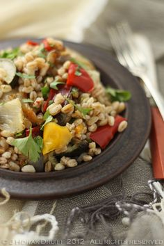 Farro & Roasted Vegetable Salad