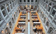 Il valore del silenzio - Le sale di lettura e depositi della Biblioteca nazionale marciana di Venezia (Andrea Pattaro/Vision)