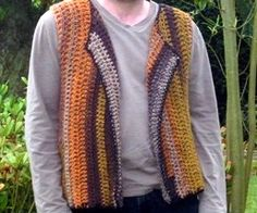 Not sure where he could wear this. crochet pattern men