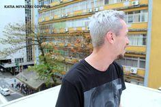 Katia Miyazaki Coiffeur - Salão de Beleza em Floripa: corte masculino - matização - cabelo loiro platina...