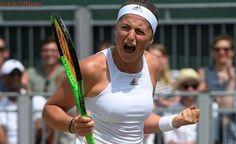 Wimbledon 2017: Jelena Ostapenko makes quarters to keep double dream alive