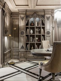With so much emphasis on sleek modern spaces, it's nice to enjoy a little extravagant inspiration from time to time. The two homes explored below share many fea  #homedecor #homedesign #decorationideas #homeinteriordesign