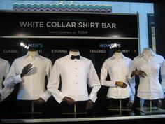 fashionably petite: White Collar Shirt Bar Courtesy of Thomas Pink