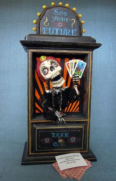 1-2.5x3.5 inches Digital Printable collage sheet for Tags Cards Paper Crafts...Psychics Magicians Spirits Skeletons SPOOKY ACEO No