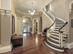 Choosing Interior Paint Colors | Tips for Choosing Interior Paint Colors with fancy ladders