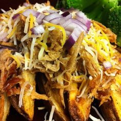 hawaiian pulled pork fries