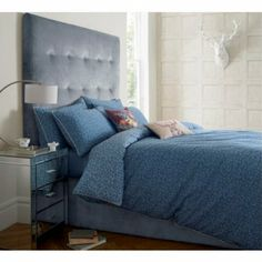 JIGSAW FOX PRINT BLUE DUVET COVER SUPER KING SIZE: Amazon.co.uk: Kitchen & Home