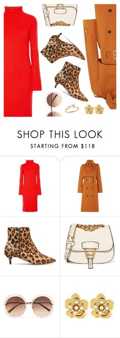 """""""Outfit of the Day"""" by dressedbyrose ❤ liked on Polyvore featuring The Row, Proenza Schouler, Aquazzura, Miu Miu, Chloé, Henri Bendel, WWAKE, ootd and polyvoreeditorial"""