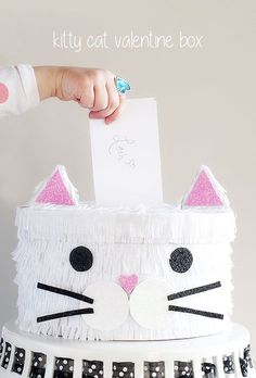 Kitty Cat Valentine Box