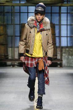 DSquared2 Autumn/Winter 2017 Menswear Collection   British Vogue