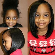49 Best Flat Ironed Styles Images On Pinterest Natural Hair