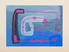 Agnieszka Kopczyńska-Kardaś, cykl Etapy,  30 x 40 cm, Tempera, pastele olejne, 2004