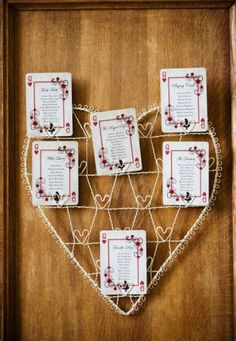 wedding table plan simple vintage style