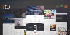Download and review of Vela - Responsive Business Multi-Purpose Theme, one of the best Themeforest Corporative themes