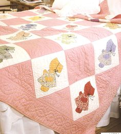 Image detail for -Ultimate Sunbonnet Sue Quilting Pattern Book - 24 Designs - Petes