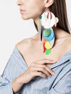 Large Gold Circle Drop Earrings - Big Hoop Earrings/ Sparkly Hoops/ Geometric Earrings/ Elegant Hoops/ Circle Earrings/ Gifts for Her - Fine Jewelry Ideas Big Earrings, Circle Earrings, Clay Earrings, Crystal Earrings, Clay Jewelry, Fine Jewelry, Drop Earrings, Gemstone Jewelry, Jewelry Box
