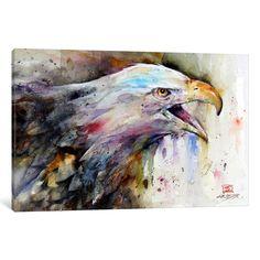"iCanvas 'Eagle' by Dean Crouser Canvas Print (depth 0.75 - size 26"" x 18"")"