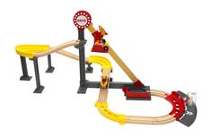 Brio Rollercoaster. He LOVES trains and cars and rollercoasters... it's perfect! #EntropyWishList #PinToWin