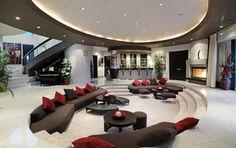 Luxury house - living room (luxury) (luxury furniture) (luxury homes) (living r. - Petra Home Modern Mansion Interior, Luxury Interior, Luxury Furniture, Interior Design, Outdoor Furniture, Wooden Furniture, Antique Furniture, Simple Furniture, Smart Furniture