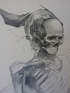 Allen Williams, a work in progress.