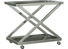 Havertys - Rex Bar Cart