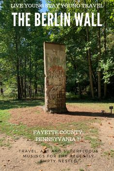When the #BerlinWall came down in 1989, graffitied segments were scattered to the 4 corners of the globe. I am used to running into walls when I travel, but I never expected the #Berlin one at #KentuckKnob #FayetteCo #Pennsylvania! Also #NemacolinResort, #ArmorySquare #Syracuse, #JFKLibrary #Boston #HultBusinessSchool #Cambridge. There are over 62 segments in the #USA alone. #Germany #wanderlust #momentsofmine #solotravel #solofemaletravel #traveladdict #roamtheworld #NewEngland #explore
