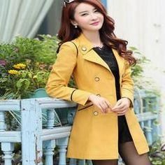 Chic Seductive Style Women Trench Coat - Daisy Dress For Less - 5