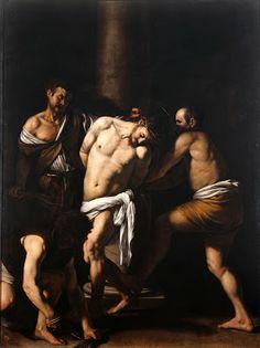 Caravaggio, Flagellazione, 1607, Museo Nazionale di Capodimonte, Napoli.