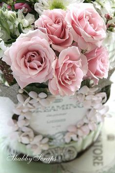 (29) Pink Roses | ❦ Rose Cottage ❦ | Pinterest)
