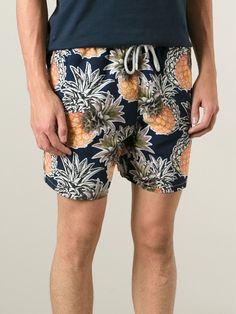 Vilebrequin Pineapple Print Swim Shorts - Benesch - Farfetch.com