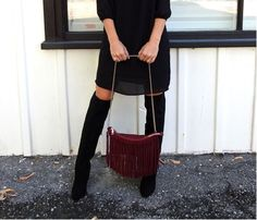 The Stylish Mama  | Styling a LBD for Fall