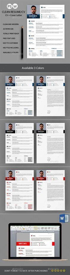 46 best cv 2 elegant images on Pinterest | Resume, Cv template and ...