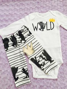 ac6d4989f Where the wild things are. Baby boy. Baby girl. Gender neutral. Baby ...