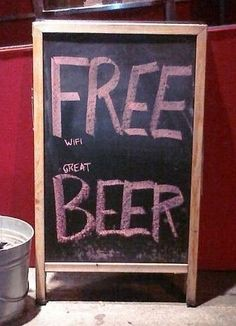 "HUMOR: Free beer  www.LiquorList.com  ""The Marketplace for Adults with Taste"" @LiquorListcom   #LiquorList"