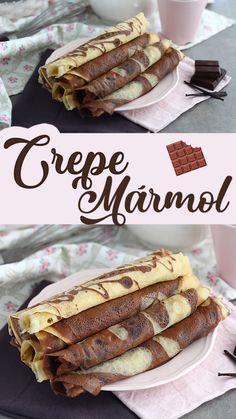 Desserts To Make, Dessert Recipes, Crepes Nutella, Good Food, Yummy Food, Tasty Videos, Food Porn, Food And Drink, Treats