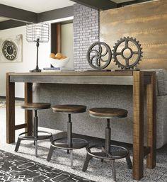 Gracie Oaks Canh Pub Table