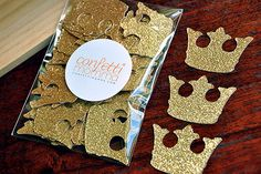 Royal Prince Baby Shower Decorations ships por ConfettiMommaParty