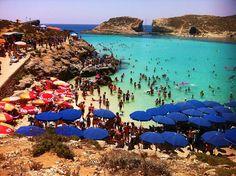 Blue Lagoon, Comino, Malta.