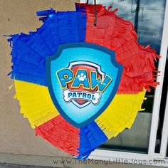 Turn an empty cardboard box into an impressive DIY piñata using items you already have around the house. It's an inexpensive way to add some excitement to your child's next birthday party. Paw Patrol Birthday Decorations, Diy Birthday Decorations, Birthday Diy, Unicorn Birthday Parties, Birthday Cake, Birthday Quotes, Birthday Ideas, Birthday Gifts, Paw Patrol Pinata
