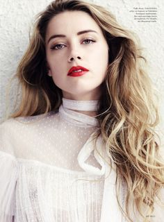 Amber Heard for ELLE US July 2015 - Valentino