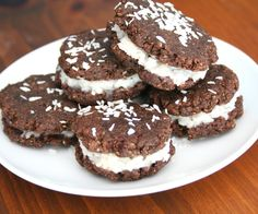 low carb chocolate coconut cookies
