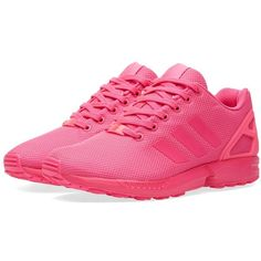 Adidas ZX Flux (225 BRL) ❤ liked on Polyvore featuring men's fashion, men's shoes, adidas mens shoes, mens pink shoes and mens lightweight running shoes