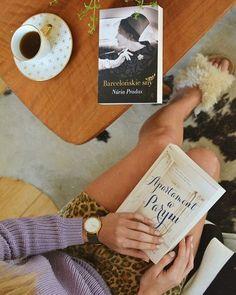 """""""Apartament w Paryżu"""", czy """"Barcelonskie sny""""? Od której powieści zacząć? 📚 Przenieść się do Paryża czy Barcelony? #apartamentwparyżu #barcelonskiesny #books #bookstagram #ksiazka #ksiazki #tea #polishgirl #polskadziewczyna #blog #blogger #home #calm #relax #quality #cisza #spokoj #bookslover"""